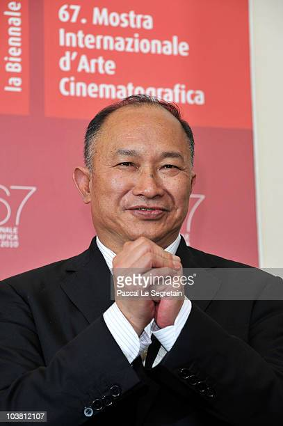 Golden Lion For Lifetime Achievement recipient John Woo attends the Reign Of Assassins photocall during the 67th Venice Film Festival at the Palazzo...