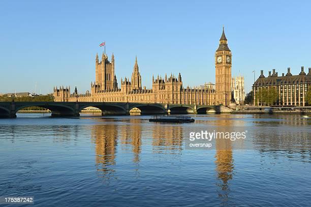 Golden London Reflections