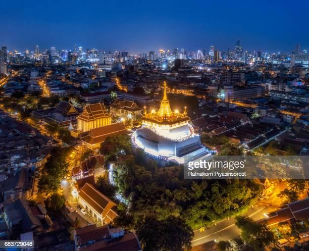 Golden Mountain of Bangkok, Thailand