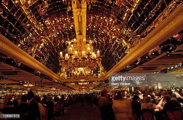 golden nugget casino at night, atlantic city, nj - casino ストックフォトと画像
