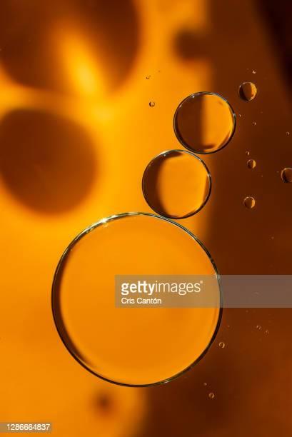 golden oil drops - cris cantón photography fotografías e imágenes de stock