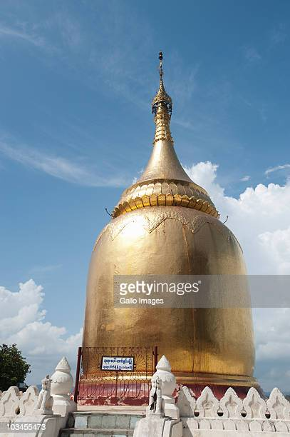 Golden pagoda of temple, Bagan, Myanmar