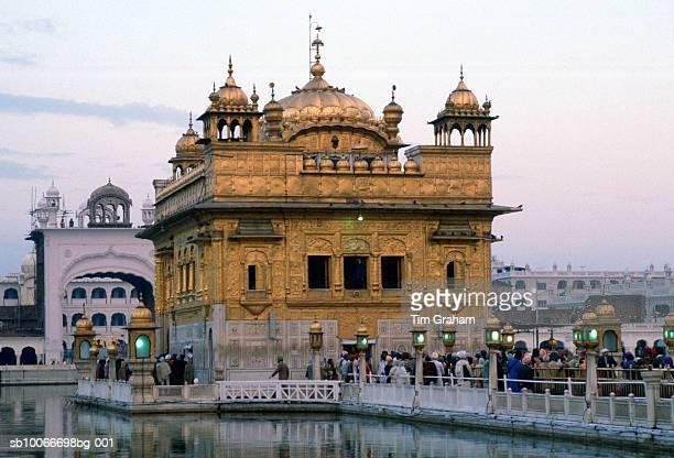 Golden Palace of Harman dir Sahib, India