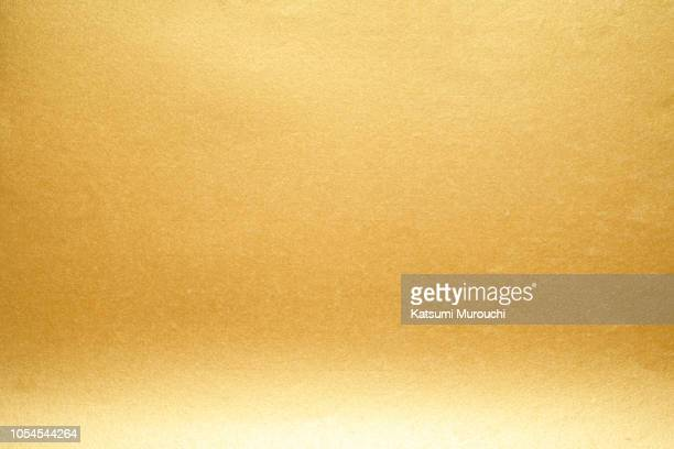 golden paper texture background - washi paper stock pictures, royalty-free photos & images
