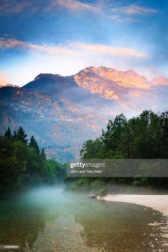 Golden Peak : Stock Photo