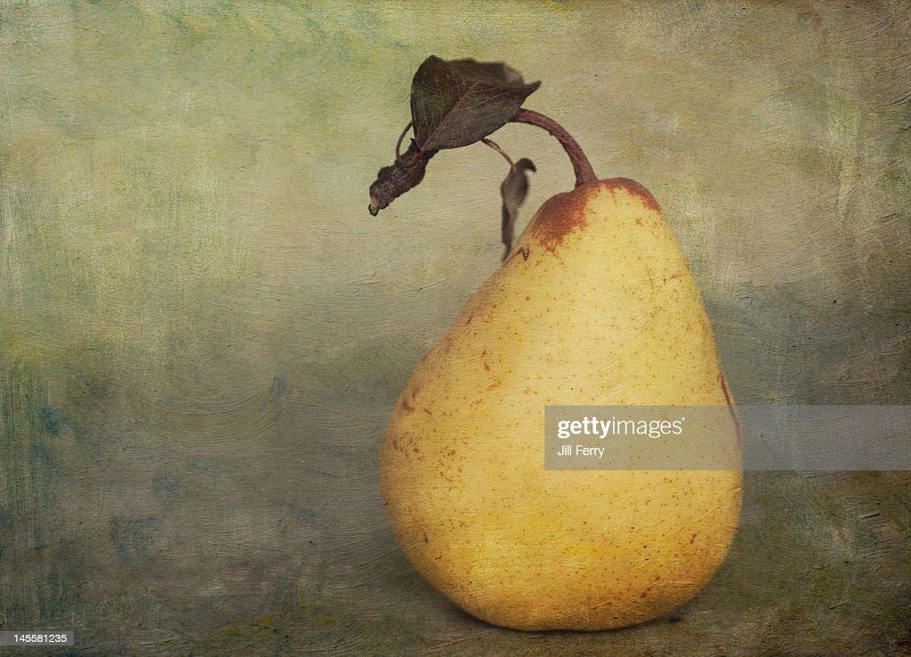 Golden pear : Stock Photo
