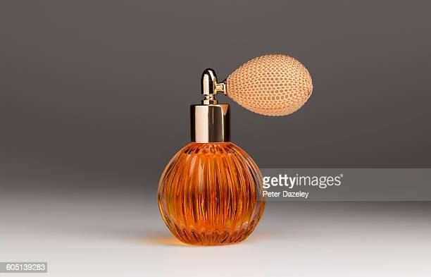 Golden perfume atomiser