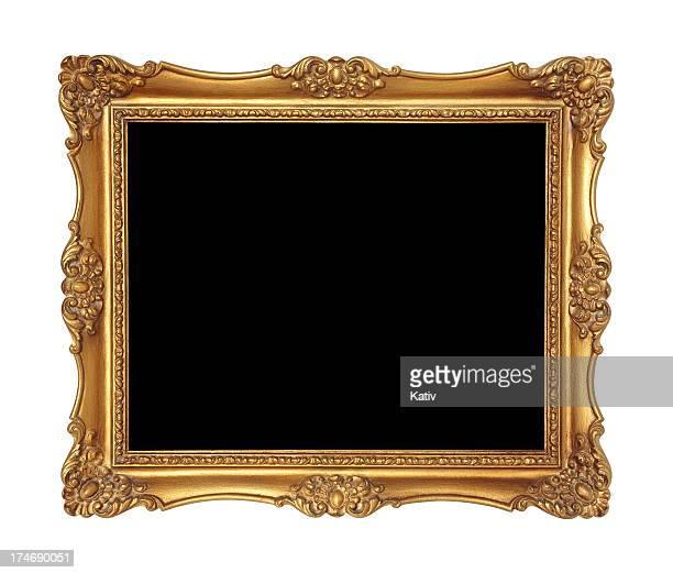 Marco de oro o espejo