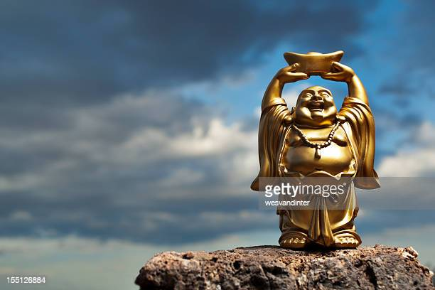 Golden Prosperity Buddha