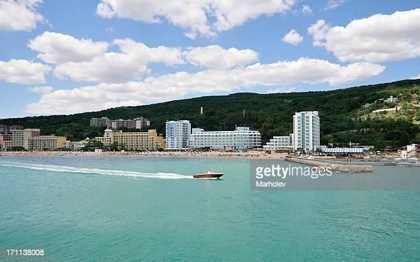 Golden Sands resort nahe Varna, Bulgarien