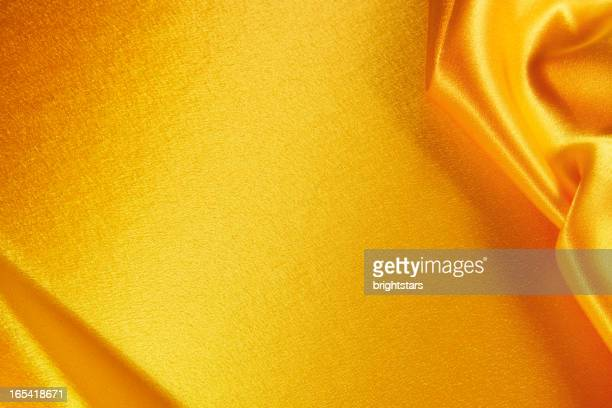 Golden satin