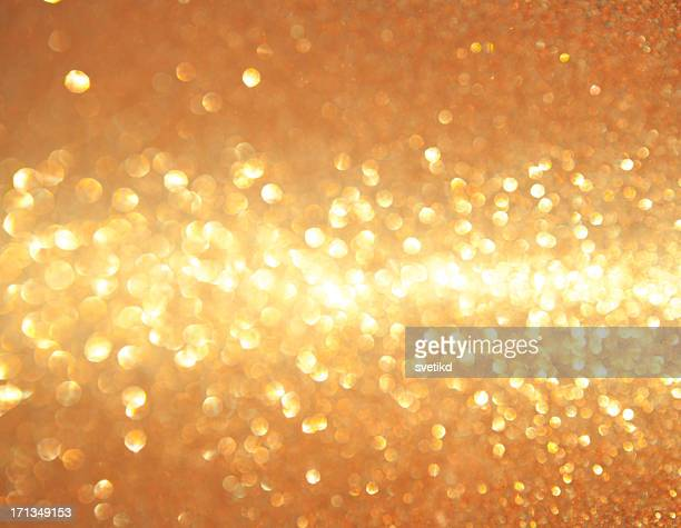 Golden shiny lights.