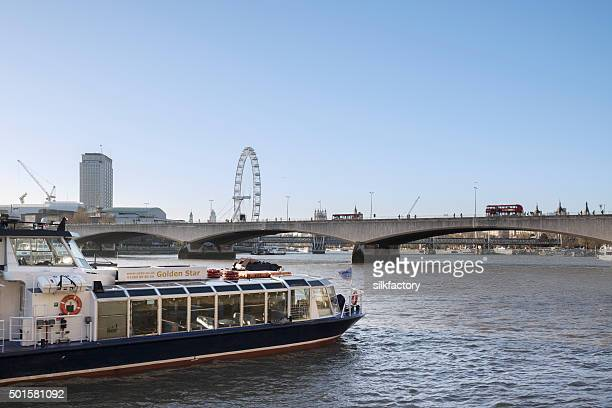 Golden Star party boat on the River Thames