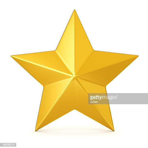golden star - clip art stock pictures, royalty-free photos & images