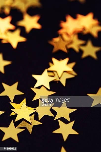 Étoiles dorées