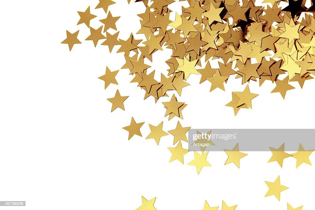 Golden Stars : Stock Photo