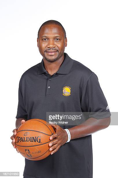 Golden State Warriors Assistant Coach Lindsey Hunter poses for a portrait during 2013 NBA Media Day on September 27 2013 in Oakland California NOTE...