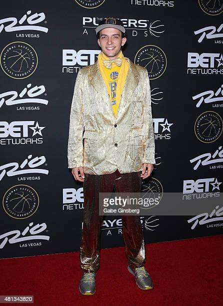 Golden State Warriors fan Oliver Wald attends The Players' Awards presented by BET at the Rio Hotel Casino on July 19 2015 in Las Vegas Nevada