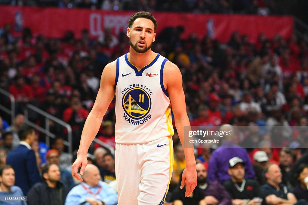 40acbf7df6c0 NBA  APR 21 NBA Playoffs First Round - Warriors at Clippers - Game Four.  LOS ANGELES