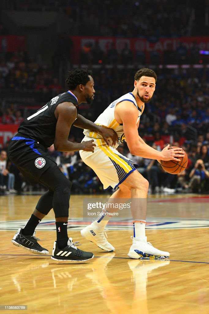 abb2b8cf91a5 NBA  APR 18 NBA Playoffs First Round - Warriors at Clippers - Game 3