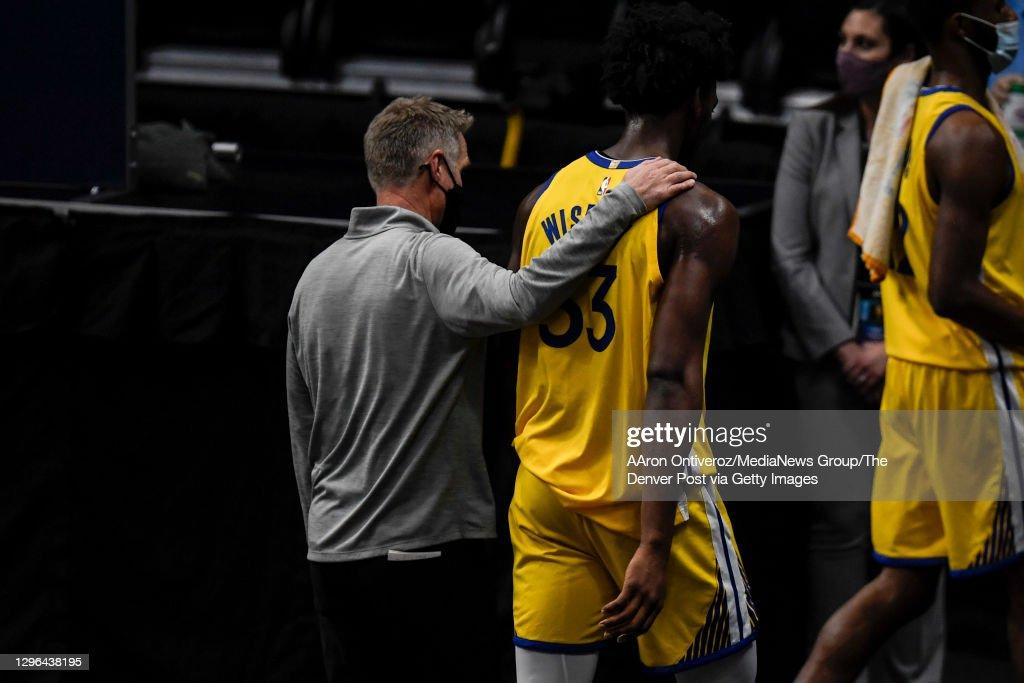 DENVER NUGGETS VS GOLDEN STATE WARRIORS, NBA : News Photo