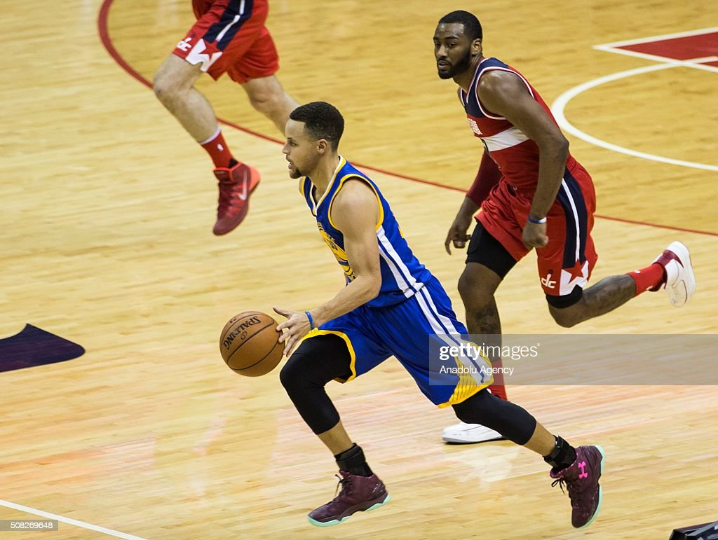 NBA - Washington Wizards vs. Golden State Warriors : News Photo