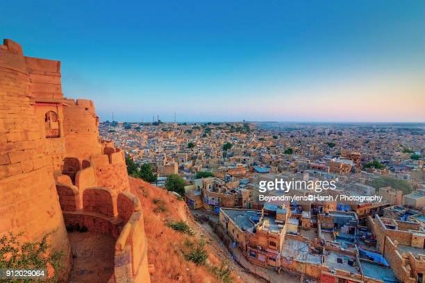 golden sunrise - rajasthan stock pictures, royalty-free photos & images