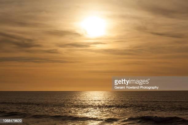 golden sunset, morocco. - casablanca photos et images de collection