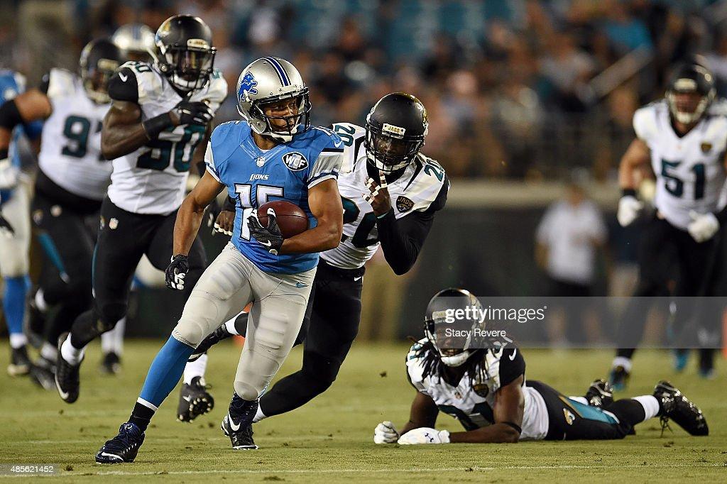 Detroit Lions v Jacksonville Jaguars : News Photo