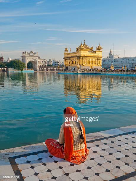 golden temple, amritsar, india - punjab india stock pictures, royalty-free photos & images