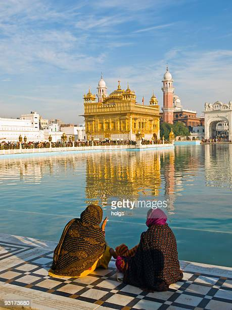 golden temple, amritsar, india - amritsar stock pictures, royalty-free photos & images