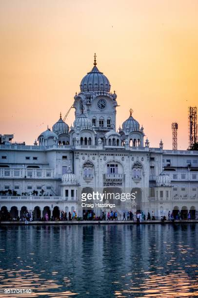 golden temple amritsar india - punjab india stock pictures, royalty-free photos & images