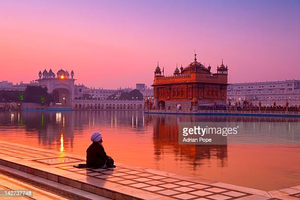 golden temple, amritsar - amritsar stock pictures, royalty-free photos & images