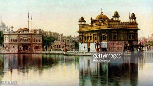 Golden Temple Amritsar Punjab India c1930s The Golden Temple at Amritsar is the principal shrine of the Sikh religion The temple was built between...