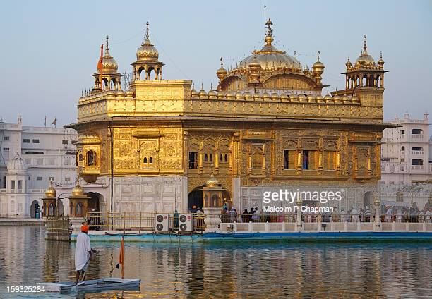 golden temple, harmandir sahib, amritsar - amritsar stock pictures, royalty-free photos & images