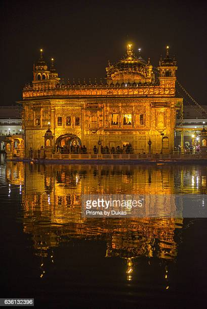 Golden temple in Amritsar in Punjab