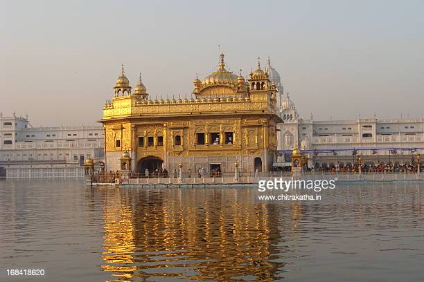 golden temple - amritsar stock photos and pictures