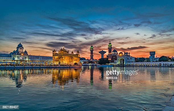 golden temple - punjab india stock pictures, royalty-free photos & images