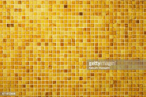 golden tile texture background - quadriculado - fotografias e filmes do acervo