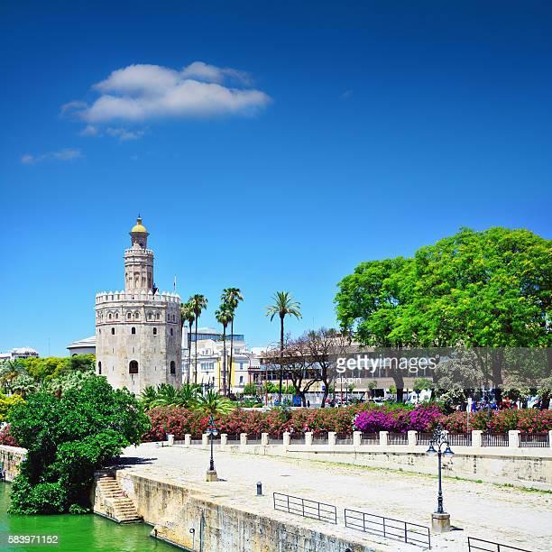 Golden tower, Seville