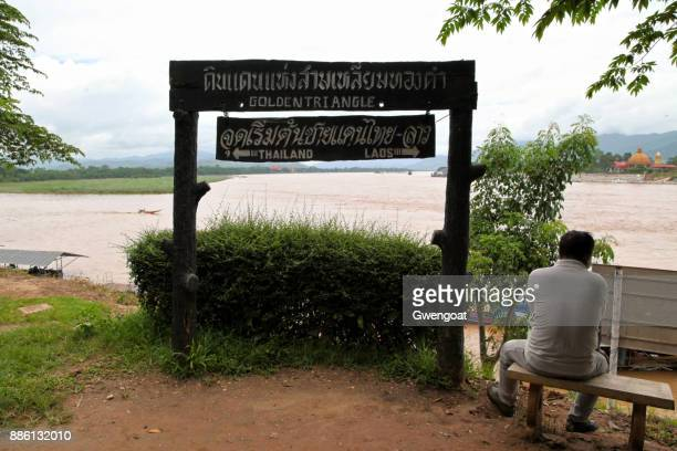 golden triangle in thailand - drug trafficking stock pictures, royalty-free photos & images