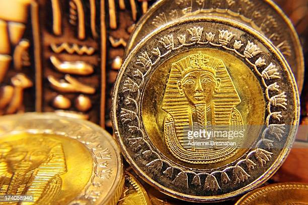 golden tut change - egyptian culture stock photos and pictures