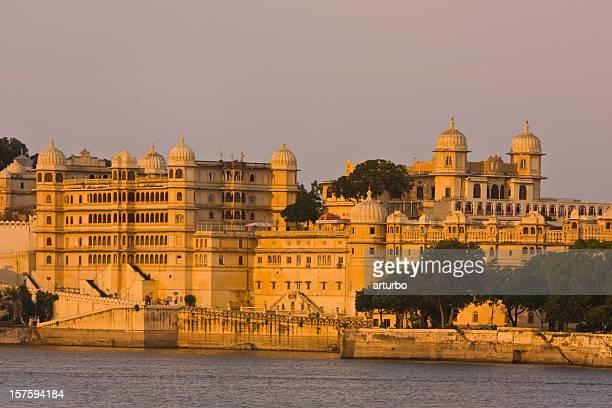 golden Udaipur City Palace