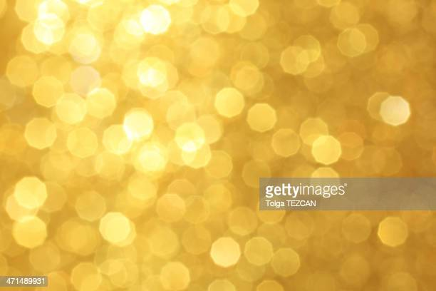 golden defocused luzes - gold background - fotografias e filmes do acervo