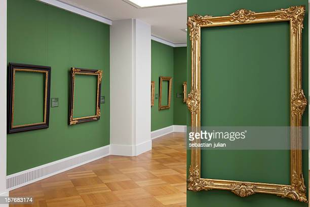 golden vintage baroque frame 18th century - place your picture