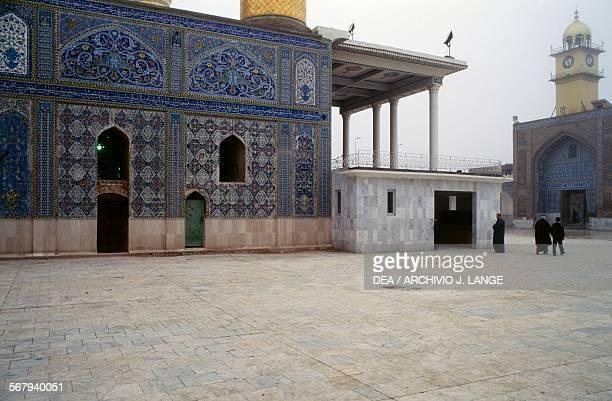 Goldendomed alAskari mosque Samarra Iraq 10th12th century