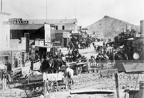 3/15/1927 Goldfield NV Boys Discovery Starts Nevada Gold Rush Their accidental discovery of gold in the rock of an old abandoned claim in the hills...