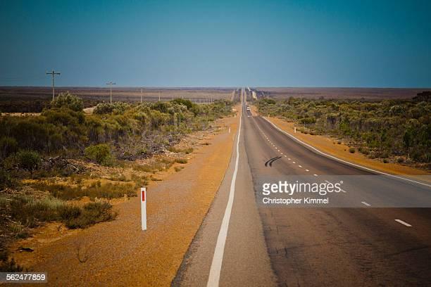 Goldfields Highway in Western Australia.