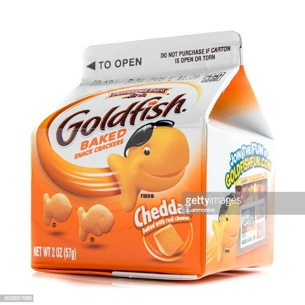 Goldfish baked snack crackers