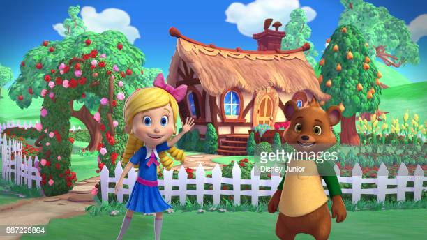 GOLDIE BEAR 'Goldie Bear' a fairy taleinspired adventure series for preschoolers follows the fairytale adventures of newfound friends Goldie and Bear...